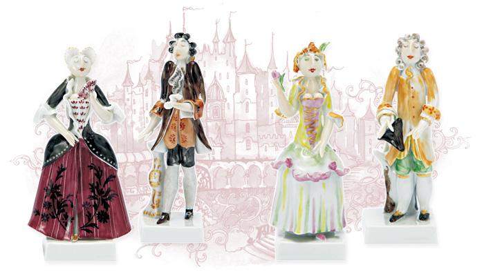 様式ペア人形コレクション